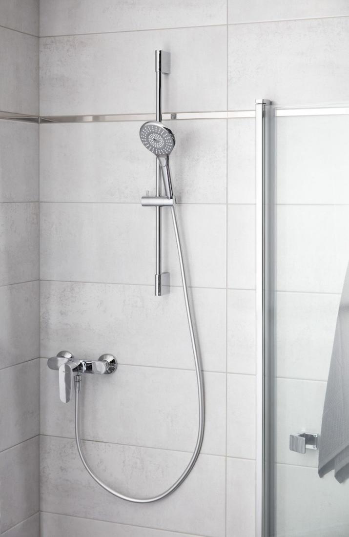 Sprchová tyč Optima Comfort chrom OPS040