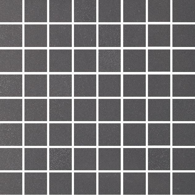 Grazia Retro 2 Mosaico Coal 30x30 Černá, Antracitová MOR2