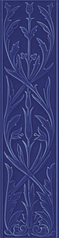 Grazia Epoque Ermitage Cobalt Craquele 20x80 Modrá HER9