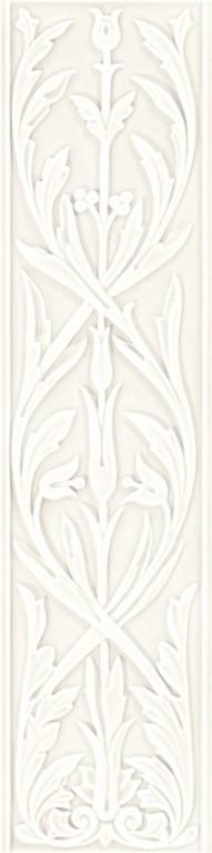 Grazia Epoque Ermitage Bianco MAtt. 20x80 Bílá HER1