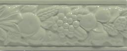 Grazia Boiserie Robbiana Pino 8x20 Zelená ROB 12