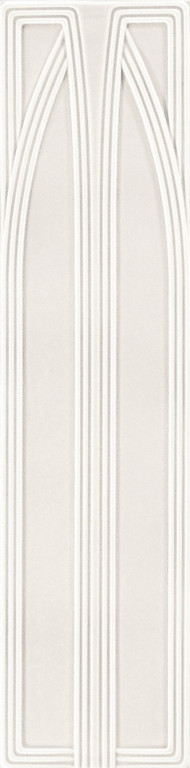 Grazia Epoque Belvedere Bianco Craquele 20x80 Bílá BEL5