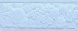 Grazia Boiserie Robbiana Genziana 8x20 Modrá ROB 11