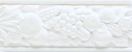 Grazia Boiserie Robbiana Bianco Craquele 8x20 Bílá ROB 05