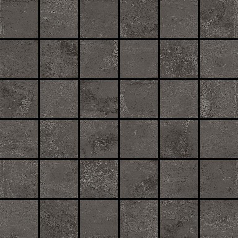 Aleluia Ceramicas Concrete Mosaic Join 29,5x29,5 Matt. Hnědá, Šedá tmavá DC113