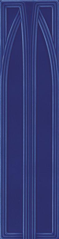 Grazia Epoque Belvedere Cobalt Craquele 20x80 Modrá BEL9