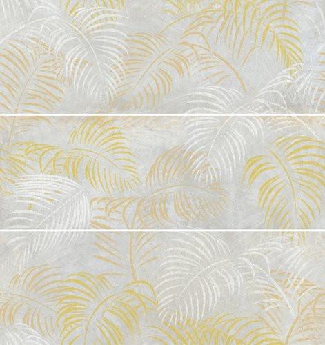 APE Meteoris Decor Set(3) Aurelia Neutral Rect. 35x100 Bílá, Žlutá, Šedá světlá A034948/K38