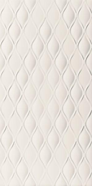 Obklad Marca Corona 4D Drop White Decor 40x80 Bílá E058