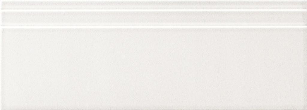 Grazia Impressions Zoccolo White 20x56 Bílá, Krémová ZIM100
