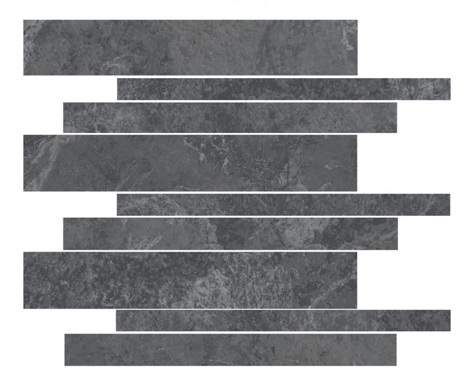 Arcana Lithos Torla Mosaic Basalto 30x30 Černá Lithos Torla Mos. Basalto R.334