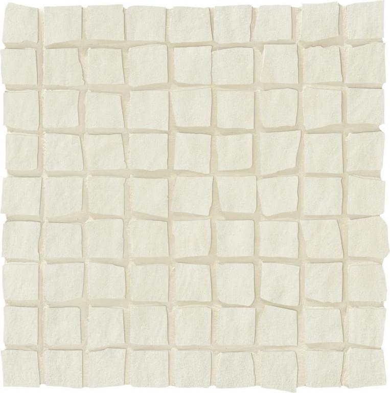 LOVE Ground Mosaic Plus White 20x20 Krémová, Šedá světlá P-6220