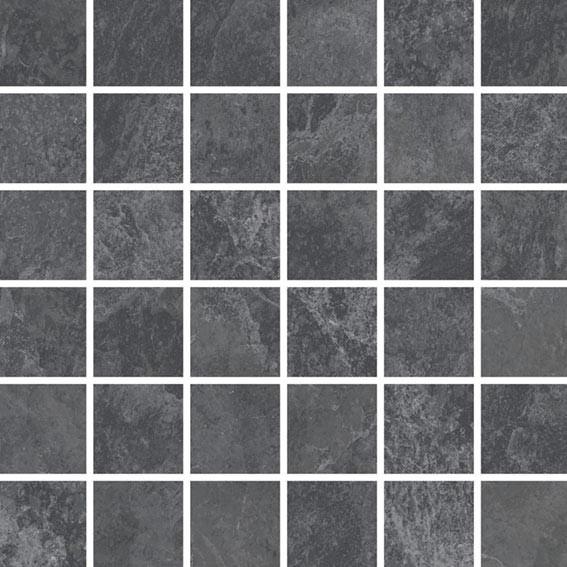 Arcana Lithos Tepuy Mosaic Basalto 30x30 Černá Lithos Tepuy Mos. Basalto R.342