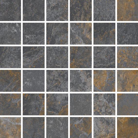 Arcana Lithos Tepuy Mosaic Mix 30x30 Multicolor Lithos Tepuy Mos. Mix R.342