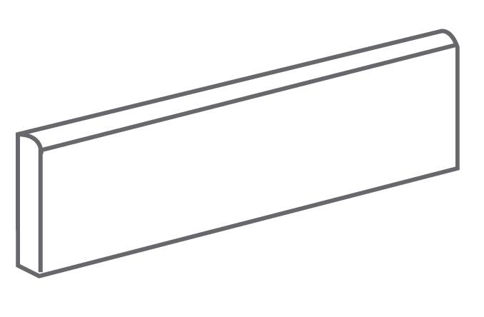 Arcana Lithos Skirting tile Nube 9,4x29,3 (sokl) Šedá světlá Lithos Skir. Nube R.310