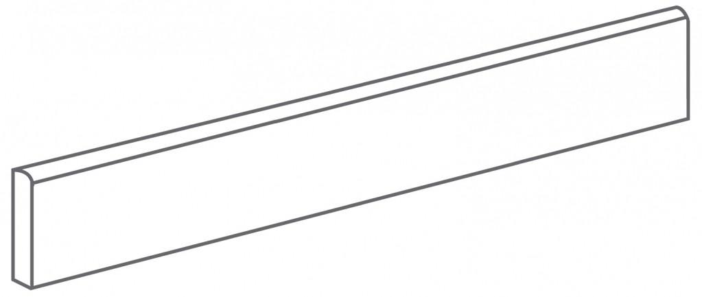Arcana Lithos Skirting tile Basalto 9,4x59,3 (sokl) Černá Lithos Skir. Basalto R.321