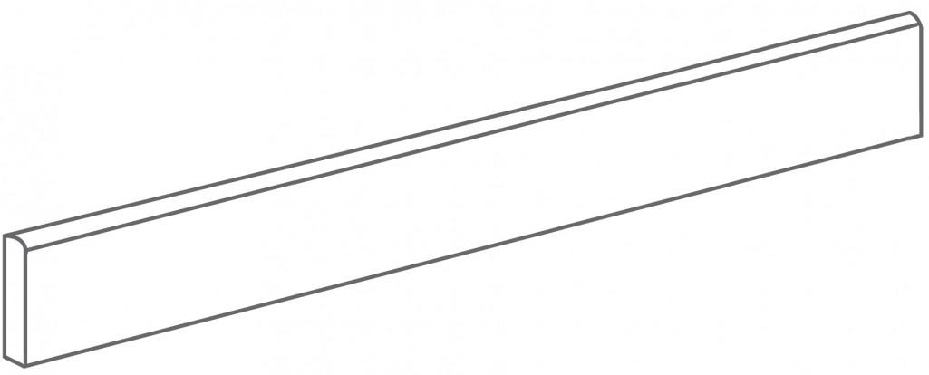 Arcana Lithos Skirting tile Gris 9,4x80 (sokl) Šedá tmavá Lithos Skir. Gris R.328