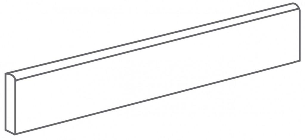 Arcana Lithos Skirting tile Nube 9,4x44,3 (sokl) Šedá světlá Lithos Skir. Nube R.314