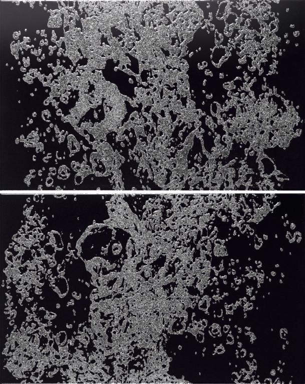 APE Duma Decor Set(2) Falls Black 25x40 Černá, Antracitová, Šedá světlá A021532/K12