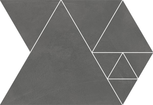 Arcana Fulson Carter Mosaic-SPR Antracita 23,7x34,3 Černá Fulson Car. Mos.SPR Antracita R.344
