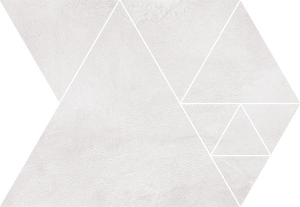Arcana Fulson Carter Mosaic Gris 23,7x34,3 Šedá světlá Fulson Car. Mos. Gris R.343