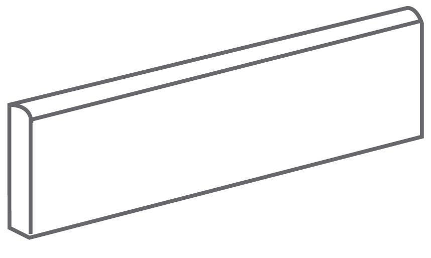 Arcana Fulson Skirting tile Sombra 9,4X30 (sokl) Šedá tmavá Fulson Skir. Sombra R.308