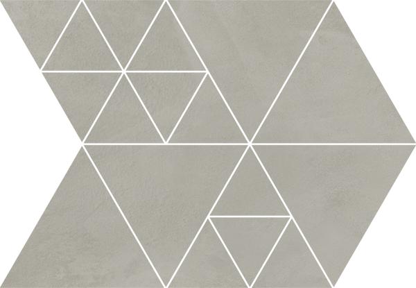Arcana Fulson Carter Mosaic Sombra 23,7x34,3 Šedá tmavá Fulson Car. Mos. Sombra R.343