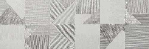 APE Flow Decor Triangle White 33,3x100 Šedá, Šedá světlá, Šedá tmavá A035010/K38