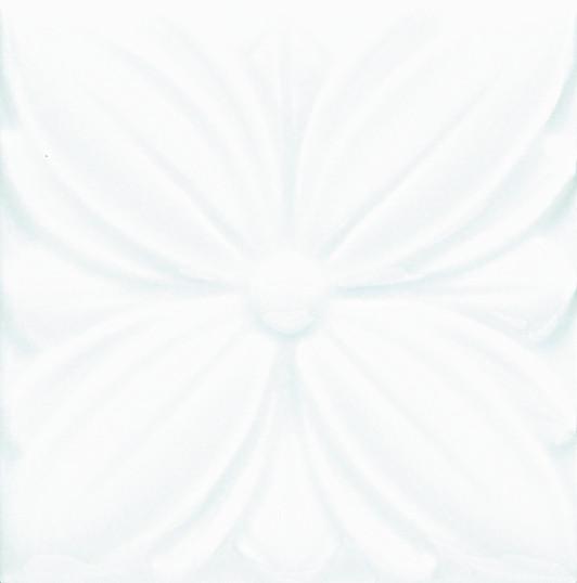 Grazia Melange Tozz. Alloro Milk 6,5x6,5 Bílá, Krémová TA1