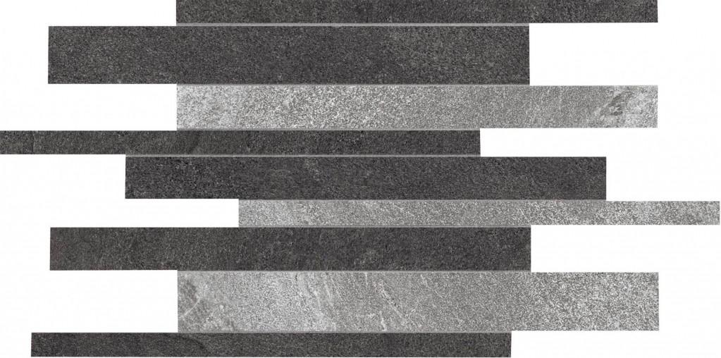 Flaviker Forward Mosaico Mix FRWD Grey/Black 30x40 Černá, Šedá FW MO 222