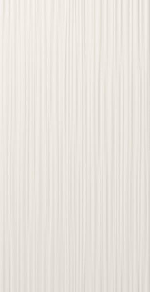 Obklad Marca Corona 4D Line White Decor 40x80  Bílá E076