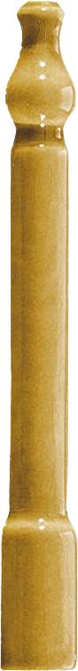 Grazia Venice Ang. Zoccolo Mustard Craquele 2x20 Žlutá, Okrová ZOAE8