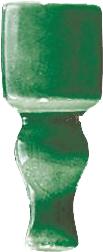 Grazia Venice Ang. Finale Bottle Craquele 2x6,5 Zelená FIAE6