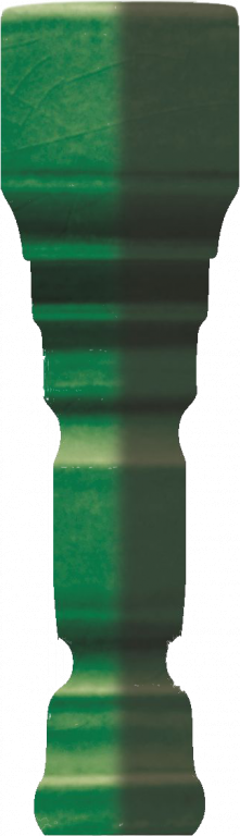 Grazia Venice Ang. Terminale Pitti Bottle Craquele 2x12 Zelená TEAP6