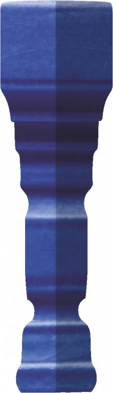Grazia Venice Ang. Terminale Pitti Cobalt Craquele 2x12 Modrá TEAP9