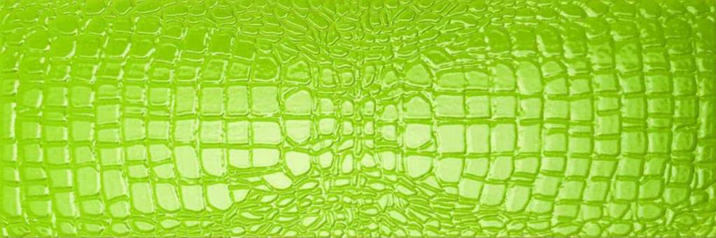 Settecento Crocotiles Croco Joy Green 24x72 Zelená 760025