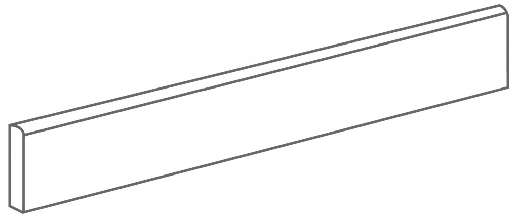 Arcana Tortona Skirting tile Antracita 9,4x59,3 (sokl) Černá, Šedá tmavá Tortona Skir. Antracita R.321