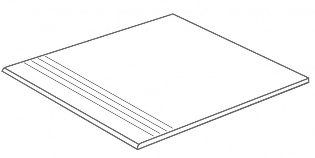 Arcana Bolano-R Step tread Blanco 44,3x98,3 (schodovka) Šedá světlá Bolano Step Bl. R.350