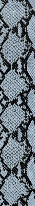 Settecento Animalier Cobra Blue 11,9x72 Rett. 76674
