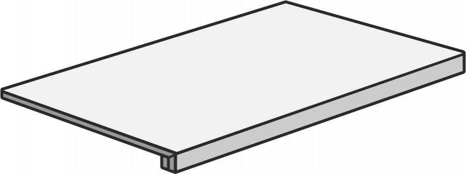 Marca Corona Motif Extra C.Silver Scalino 60 Nat. Bílá, Šedá světlá E432