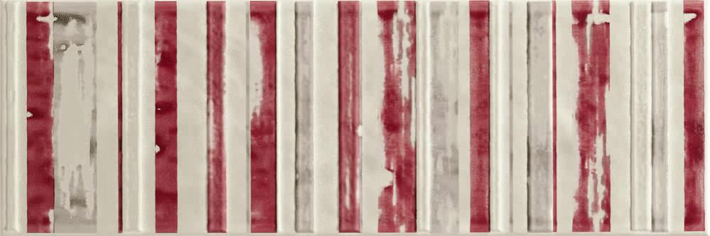LOVE Ground Zone Cream 20x60 Béžová, Červená P-6220