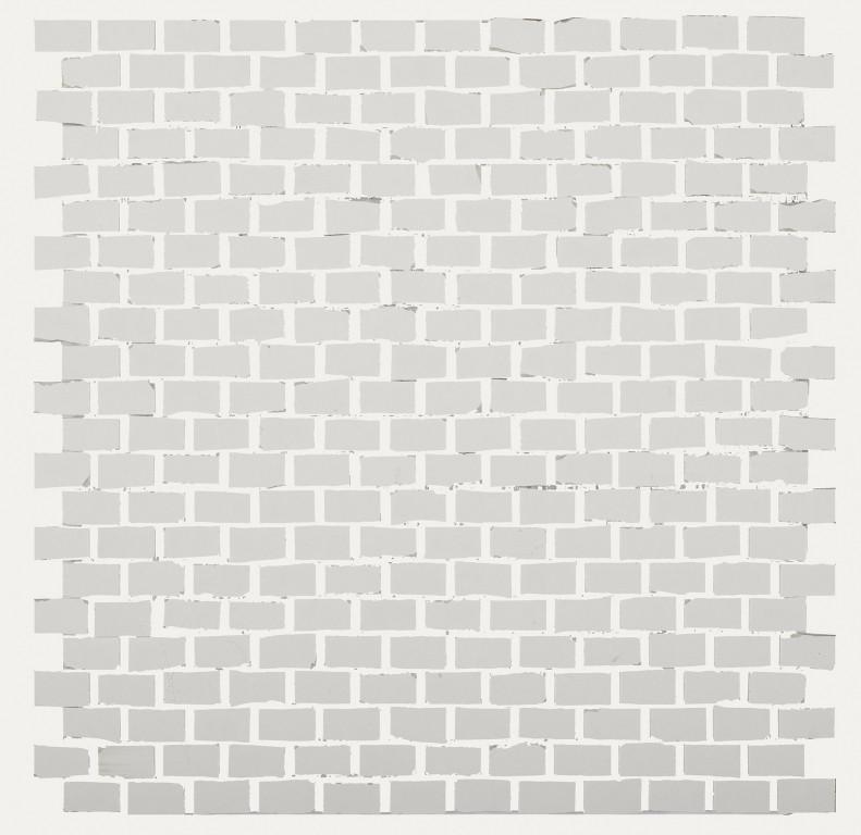 41zero42 Clay41 Mosaic Bricky White 30x30 Bílá, Šedá světlá 4100308