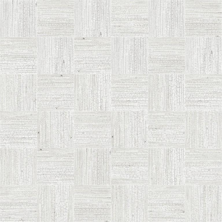 41zero42 Yaki Mosaic Stucco 30x30 Bílá, Šedá světlá 4100173