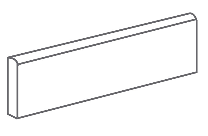 Arcana Tortona Skirting tile Beige 9,4x30 (sokl) Béžová Tortona Skir. Beige R.308