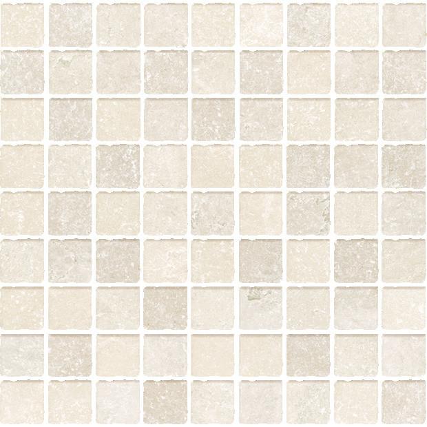 Cerdomus Effetto P. di Ostuni Mosaico Avorio Nat. 30x30 Krémová 80403