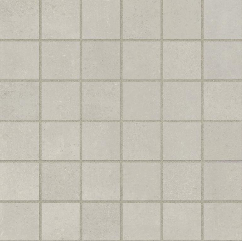 Marca Corona Stonecloud Ivory Tessere 30x30 Béžová, Šedá světlá F802