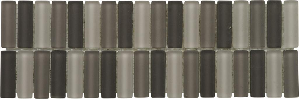 Arcana Universal Listelo Fresh Marengo 10x30 Černá, Šedá světlá Universal Listelo M. R.319