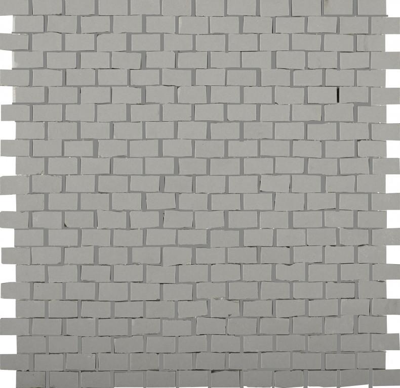 41zero42 Clay41 Mosaic Bricky Grey 30x30 Šedá 4100309
