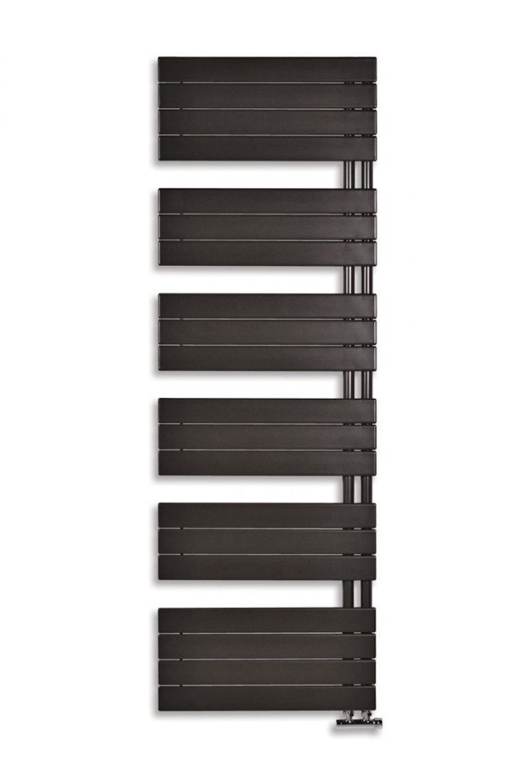 Radiátor kombinovaný Anima Oliver 122x60 cm antracit SIKODHR6001300A