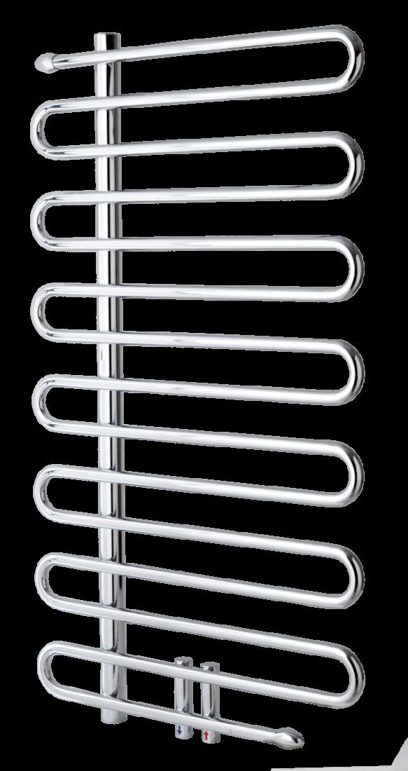 Radiátor pro ústřední vytápění Anima Ricordi 105x60 cm chrom BR6001050CR
