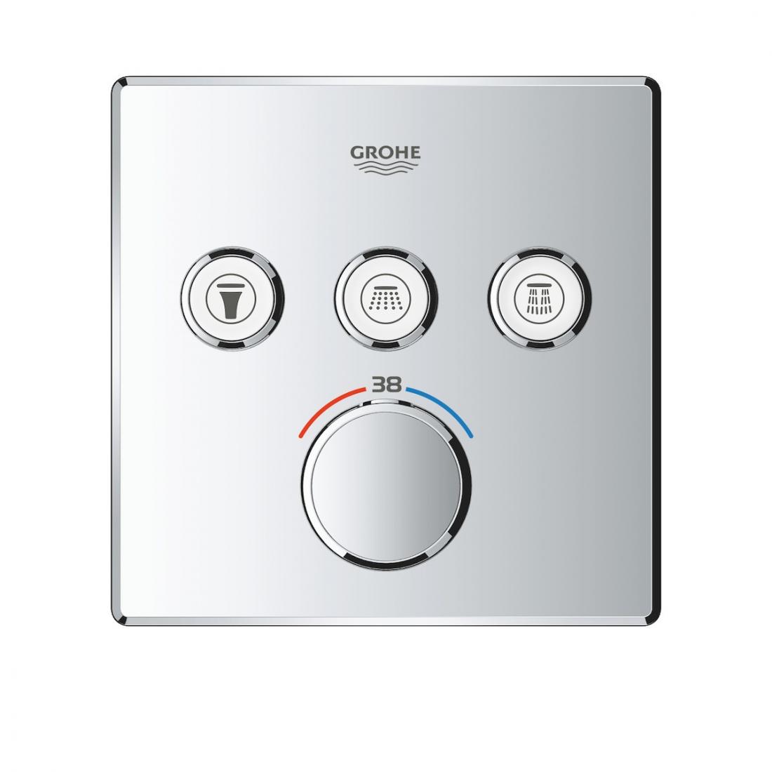 Termostat Grohe Smart Control s termostatickou baterií chrom 29126000